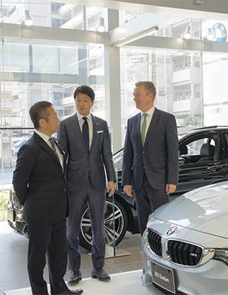 BMW対談に参加した3人